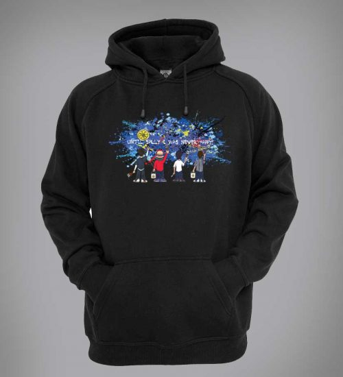Bespoke Stone Roses Sally Cinnamon hoodie inspired by the song Sally Cinnamon and designed by artist Mark Reynolds.
