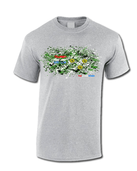 The Stone Roses Splatter T Shirt Mark Reynolds Mr Art