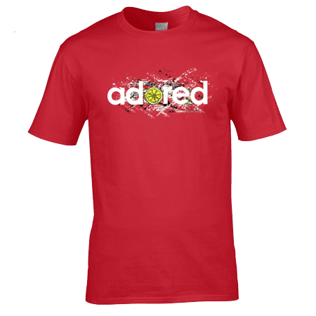 The Stone Roses Adored T-Shirt designed by artist Mark Reynolds.