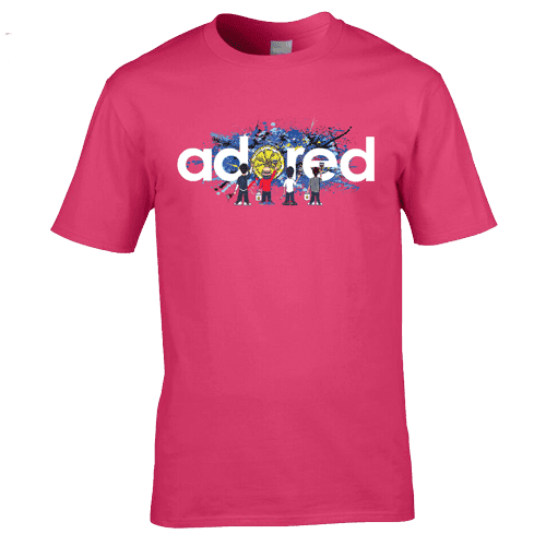 The Stone Roses Adored mk2 T-Shirt. Available in a range of colours and sizes