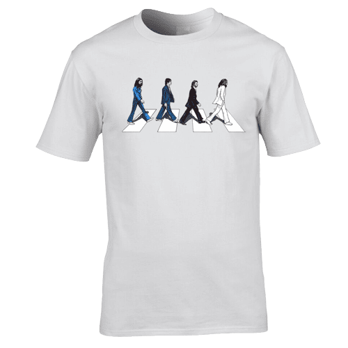 The Beatles Abbey Road T Shirt Mark Reynolds Mr Art