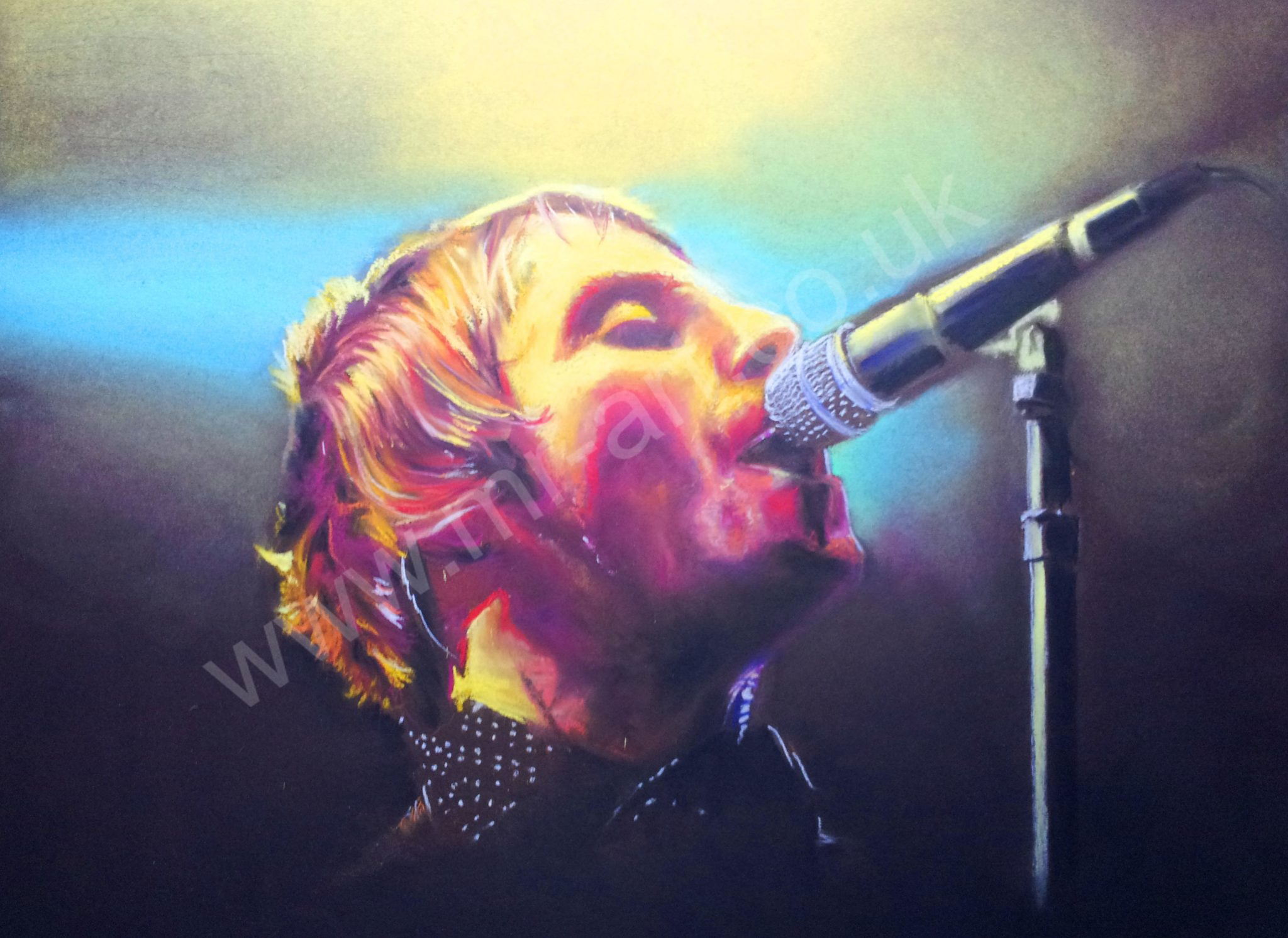 Liam Gallagher Psychedelic