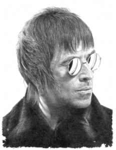 Liam Gallagher - Hyper-realism