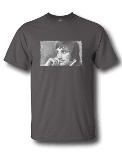 Mens-Charcoal - George Best