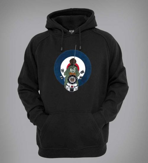This Jimmy inspired Hoodie, designed by Mark Reynolds, is available in a range of different colours and sizes