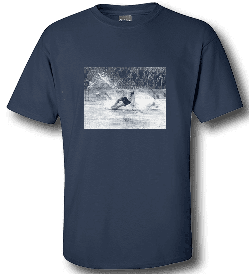 Art-Wear T-Shirt featuring Tom Finney, Splash