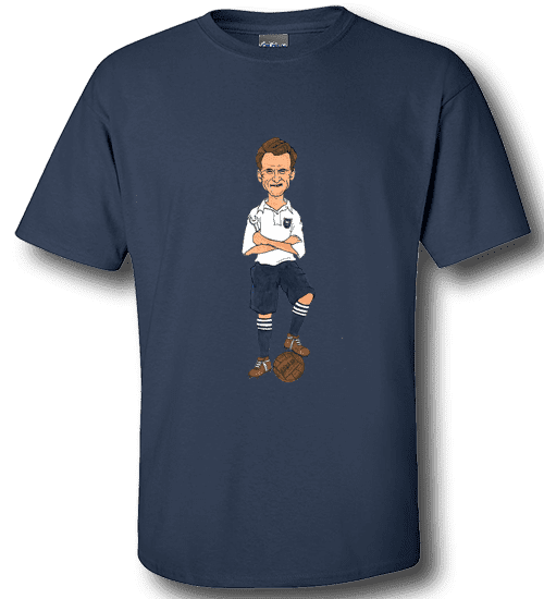 Art-Wear Cartoon T-Shirt featuring Tom Finney