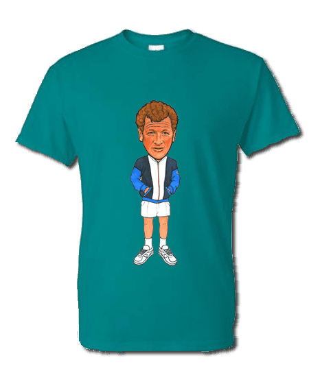 Art-Wear T-Shirt featuring cartoon Sammy inspired by The Business