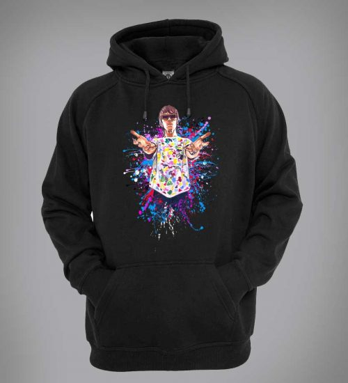 Ian Brown God Like Genius hoodie designed by Mark Reynolds