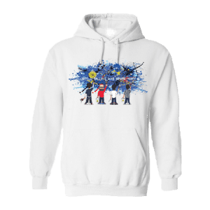 Stone Roses Cartoon Art-Wear Hoodie inspired by the song Sally Cinnamon