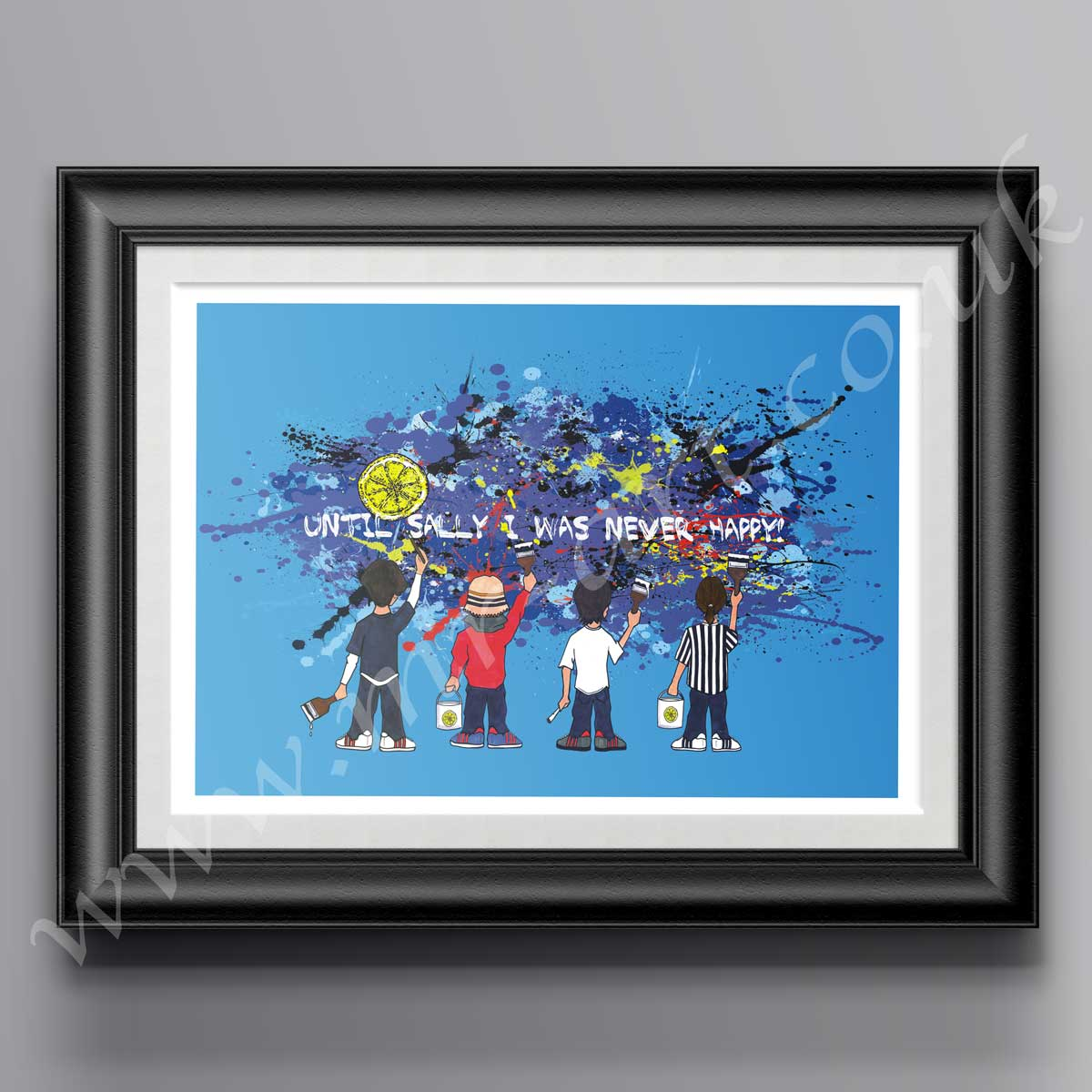 The Stone Roses Sally Cinnamon Print