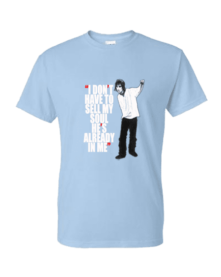 Ian brown sell my soul t shirts mark reynolds mr art for Where can i sell my t shirts