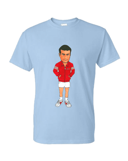 Art-Wear T-Shirt featuring cartoon Charlie inspired by The Business