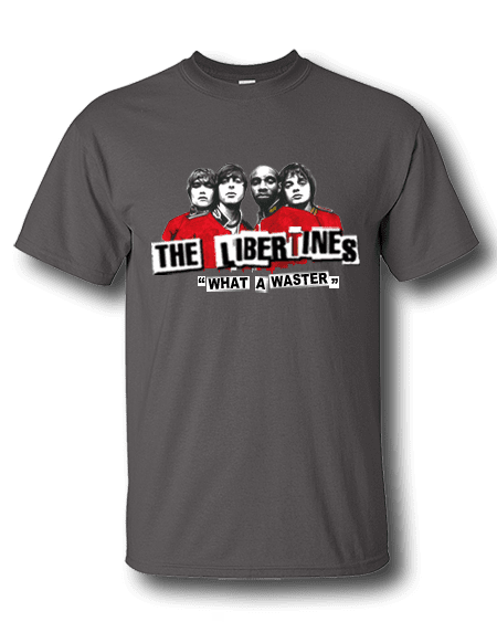 Libertines T-Shirt drawn by Mark Reynolds