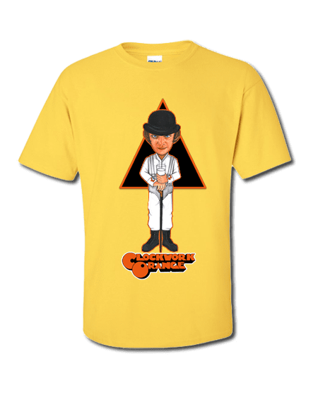 A Clockwork Orange T-Shirt designed by Mark Reynolds
