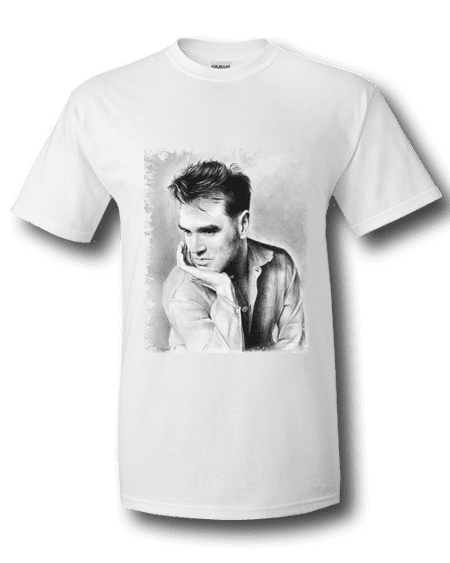 Morrissey T-Shirt drawn by Mark Reynolds