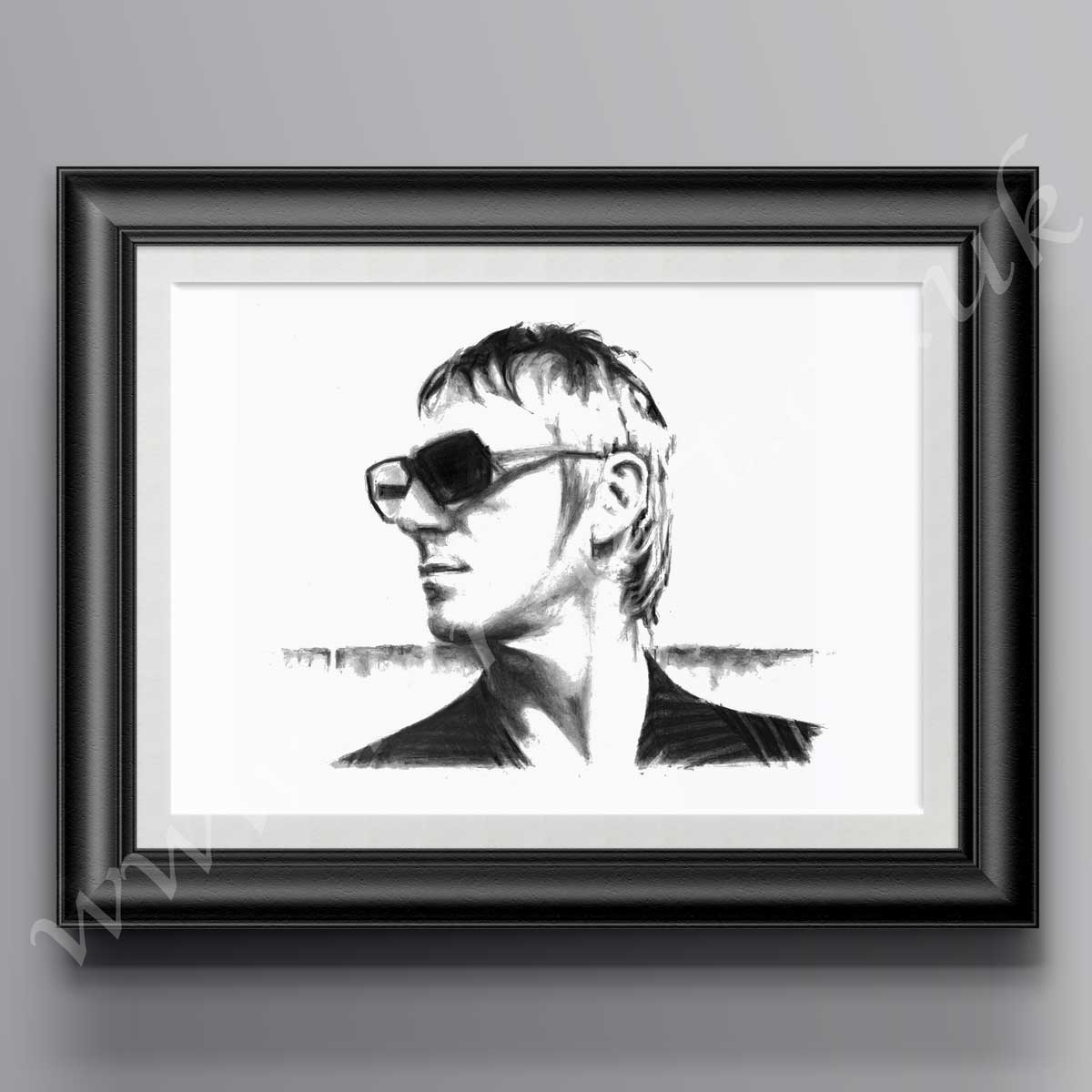 Paul Weller Modern Man Print