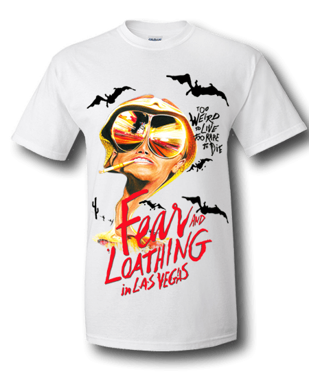 Fear and loathing in las vegas t shirt mr for T shirt design las vegas