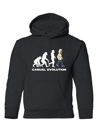Casual Evolution T-Shirt designed by Mark Reynolds