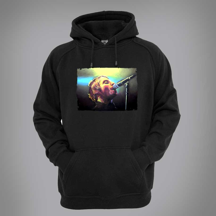 Liam Gallagher Psychedelic Hoodie