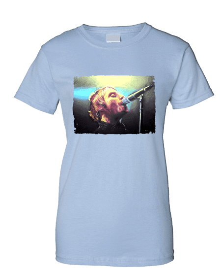 Liam Gallagher Psychedelic T-Shirt featuring artwork by Mark Reynolds. Available in a range of colours and sizes.