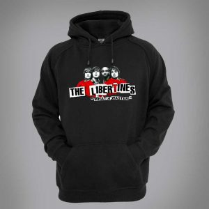 This Libertines Hoodie, originally a pencil and pen drawing by Mark Reynolds, is available in a range of different colours and sizes