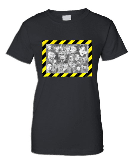 T-Shirt featuring Manchester Music Legends