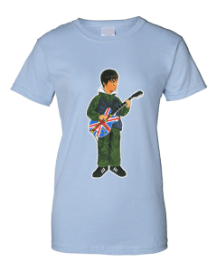 Noel Gallagher T-Shirt featuring cartoon drawing by Mark Reynolds