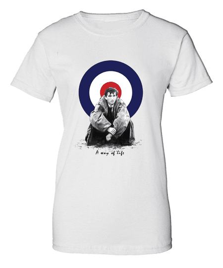 Quadrophenia T-Shirt featuring pencil drawing by Mark Reynolds