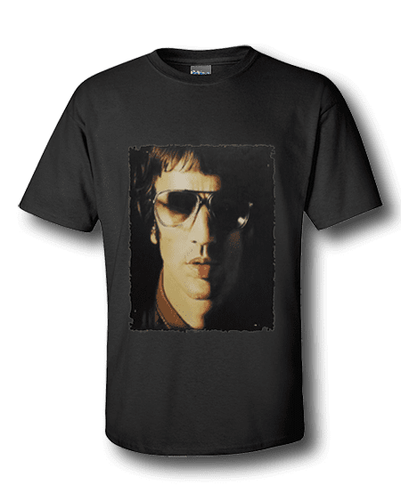 Richard Ashcroft T-Shirt featuring coloured pencil drawing by Mark Reynolds