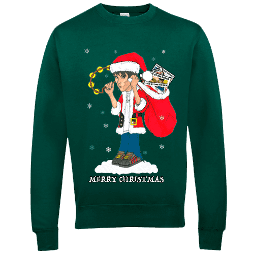 Ian Brown Christmas Jumper by Mr Art