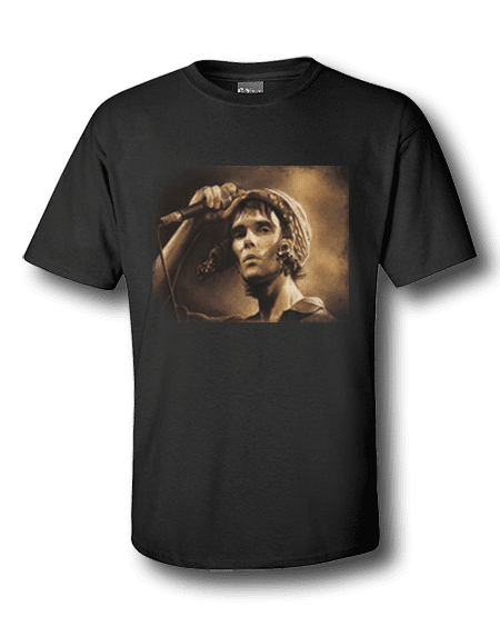 Ian Brown Stone Roses T-Shirt by Mark Reynolds aka Mr Art