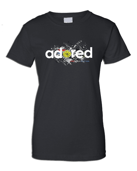 The Stone Roses Adored T-shirt  (Ladies)