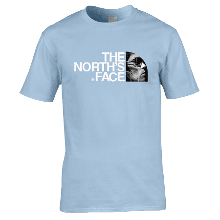 Ian Brown The North's Face T-Shirt. Available in a range of colours and sizes