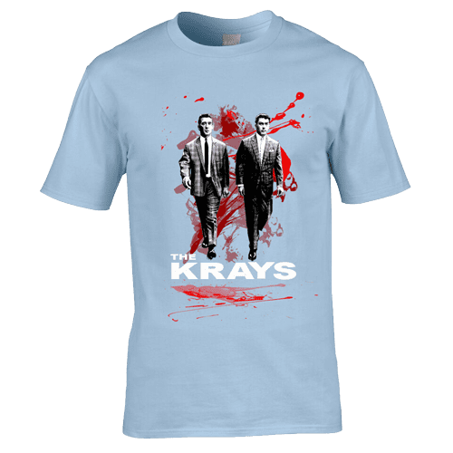 The Krays T-Shirt. Available in a range of colours and sizes
