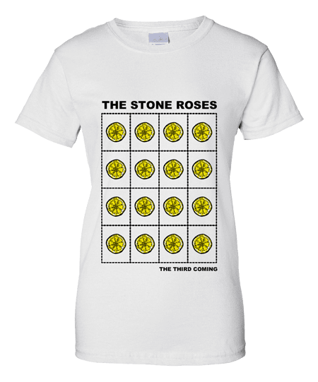 The Stone Roses 2016 Third Coming T-Shirt LADIES