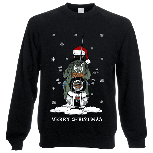 Jimmy-Scooter-Christmas-Jumper-in-Black