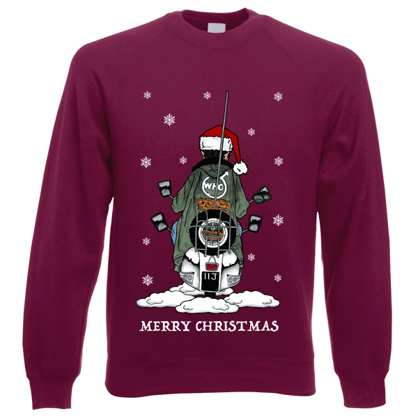 Jimmy-Scooter-Christmas-Jumper-in-Burgundy