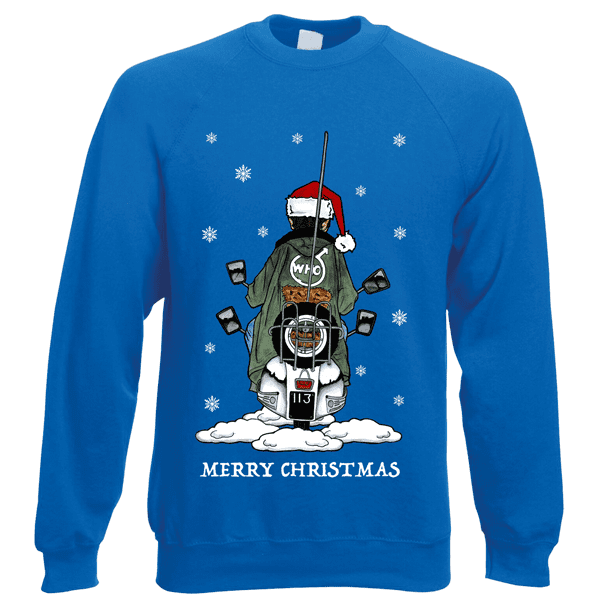 Jimmy-Scooter-Christmas-Jumper-in-Royal-Blue