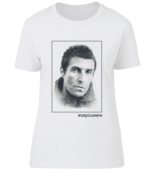 This Liam Gallagher T-Shirt is available in White and Sports Grey and in a wide range of sizes. It has been hand drawn in pencil by Mark Reynolds and is exclusive to Mr Art.