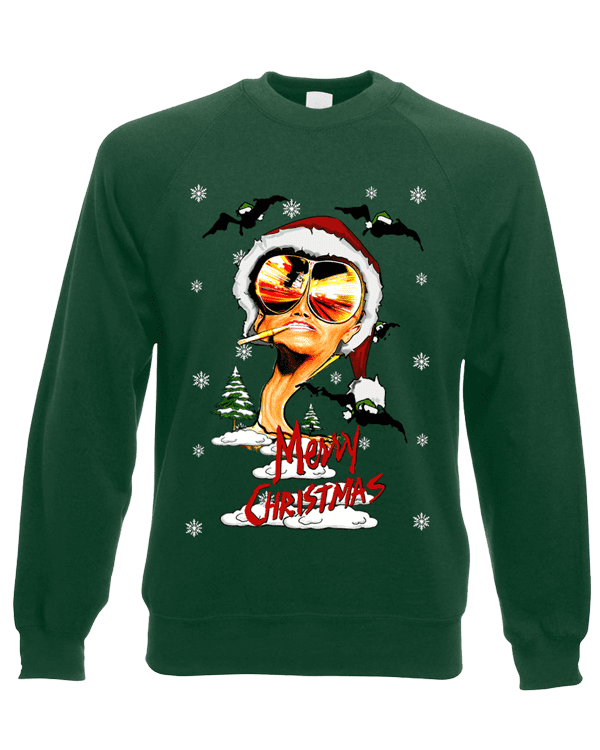 Fear And Loathing Christmas Jumper Mark Reynolds Mr Art