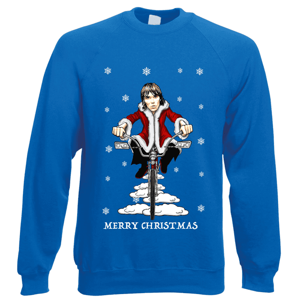 Ian-Brown-Low-Rider-Christmas-Jumper-in-Royal-Blue