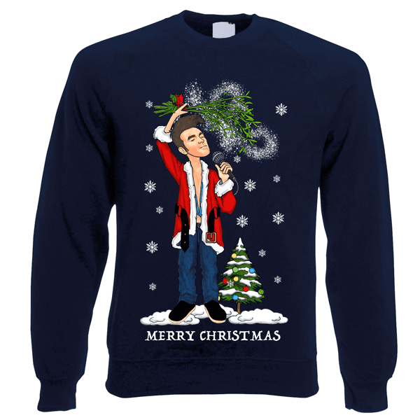 Morrissey-Christmas-Jumper-In-Navy