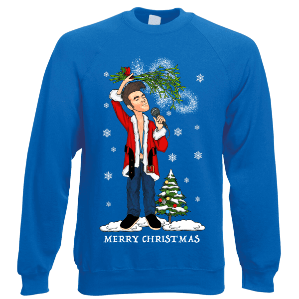 Morrissey-Christmas-Jumper-In-Royal-Blue