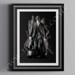 Peaky Blinders Thomas Shelby drawing, prints can be purchased in size A2 & A3