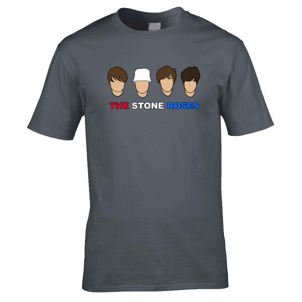 The-Stone-Roses-in-charcoal