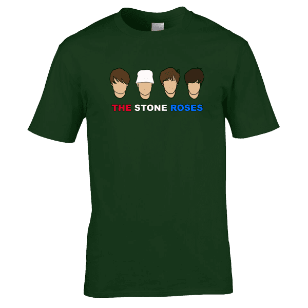 The-Stone-Roses-in-forest-green
