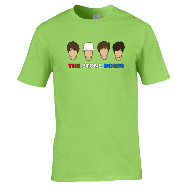 The-Stone-Roses-in-lime-green