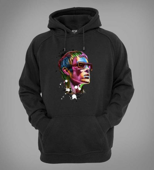 This Ian Brown Psychedelic Hoodie is available in a wide range of colours and sizes. It is exclusive to Mr-Art and can only be purchased from this website.