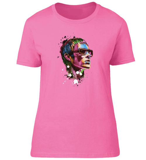 This Ian Brown Psychedelic T-Shirt is available in a wide range of colours and sizes. It is exclusive to Mr-Art and can only be purchased from this website.